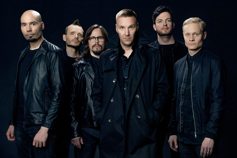 Foto promocional da banda Poets Of The Fall