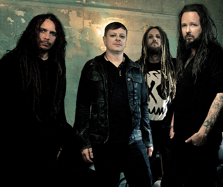 Foto promocional do Korn