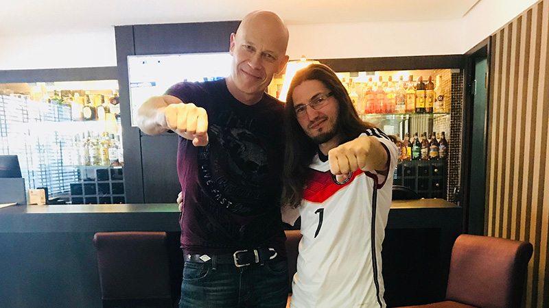 Wolf Hoffmann, guitarrista e fundador do Accept