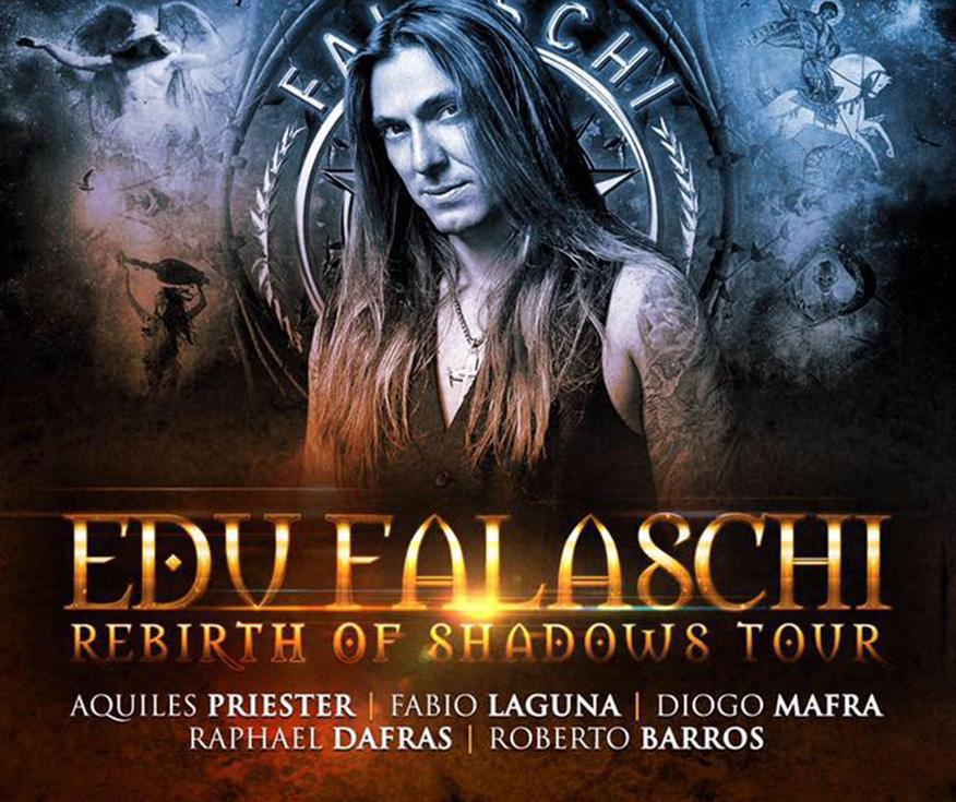 Banner de Edu Falaschi - Rebirth Of Shadows Tour