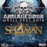 Sorteio de ingresso para Rotting Christ e Shaman no Armageddon Metal Fest